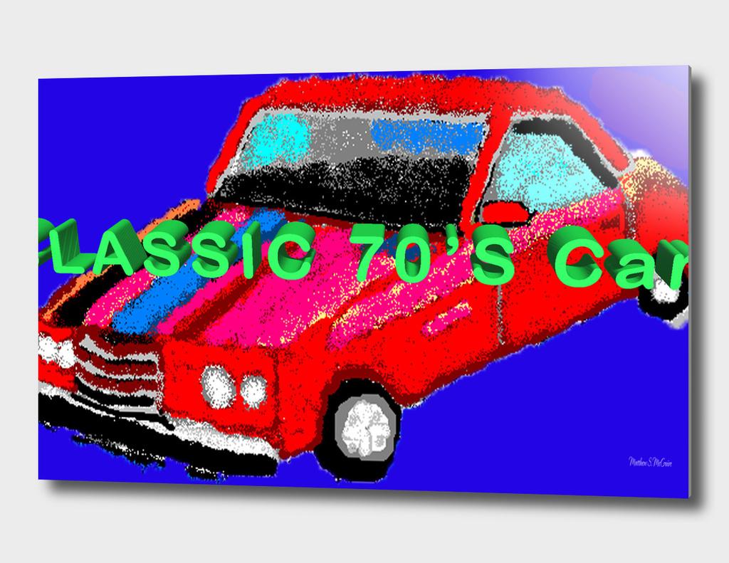 classic 70s Cars