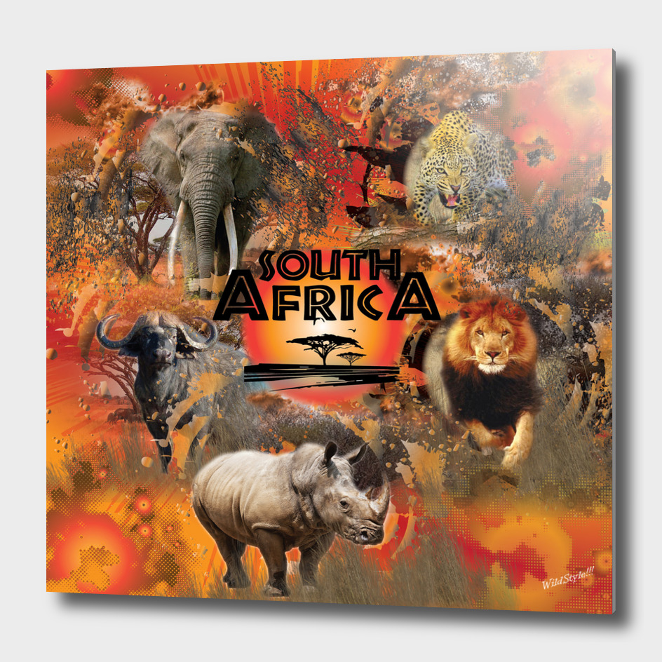 South Africa Big 5 Wild Game