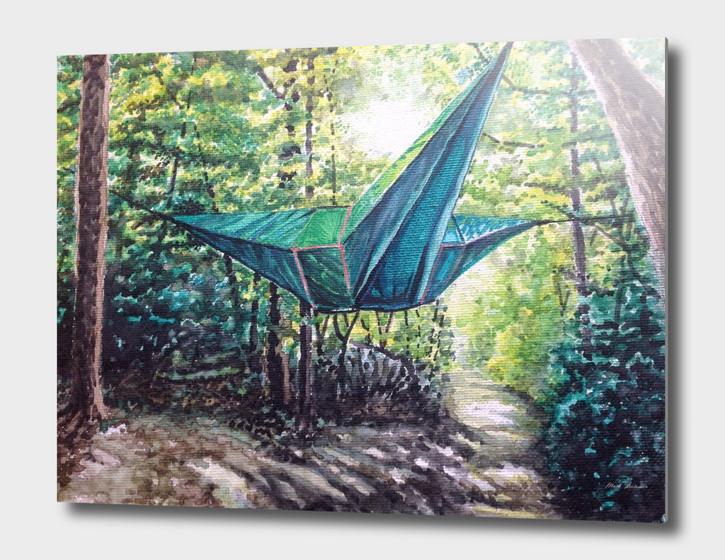Camping off the World