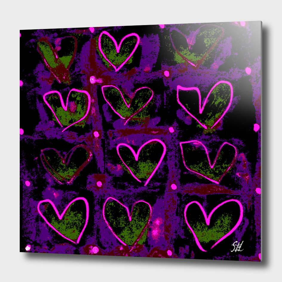 Hearts In The Window ~ Glow of Love
