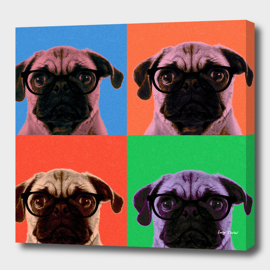 Geek Pug 4 colors