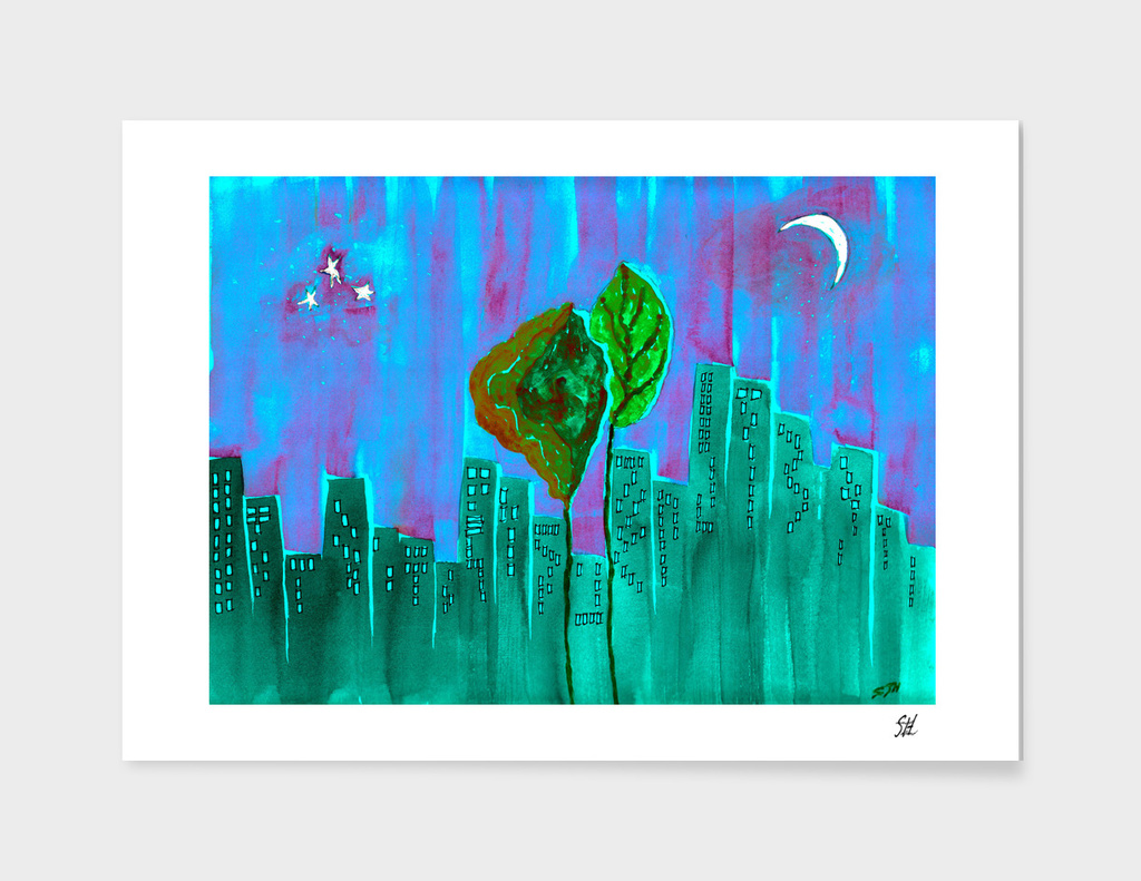 Tree Town 2 ~ Purple Aurora