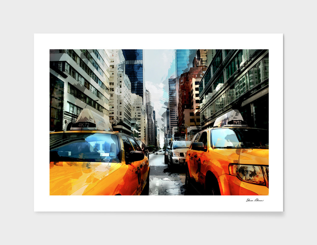 Mid Street Mid Town Manhattan