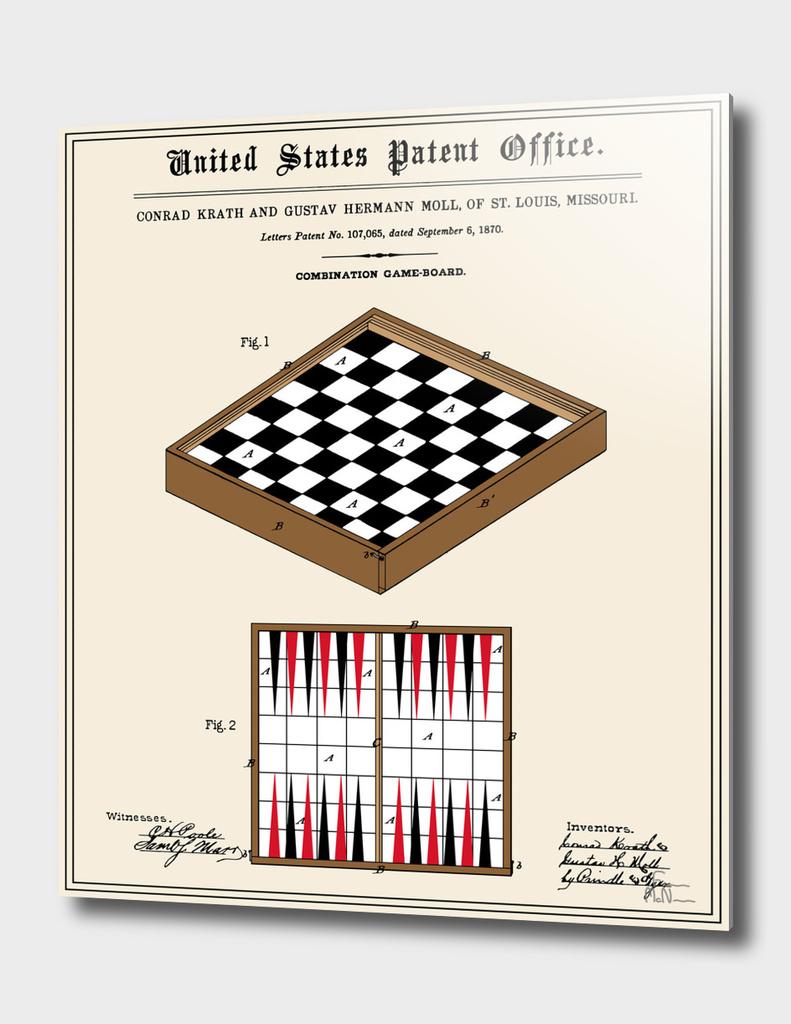 Game Board Patent