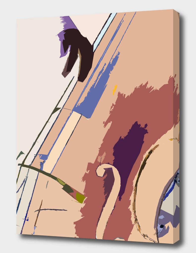 Jazz Bass Illustration
