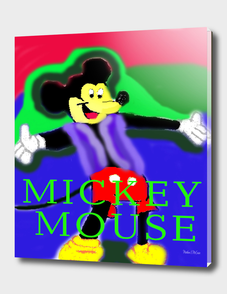 Mickey-Mouse paint