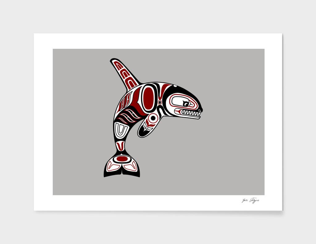 Haida orca