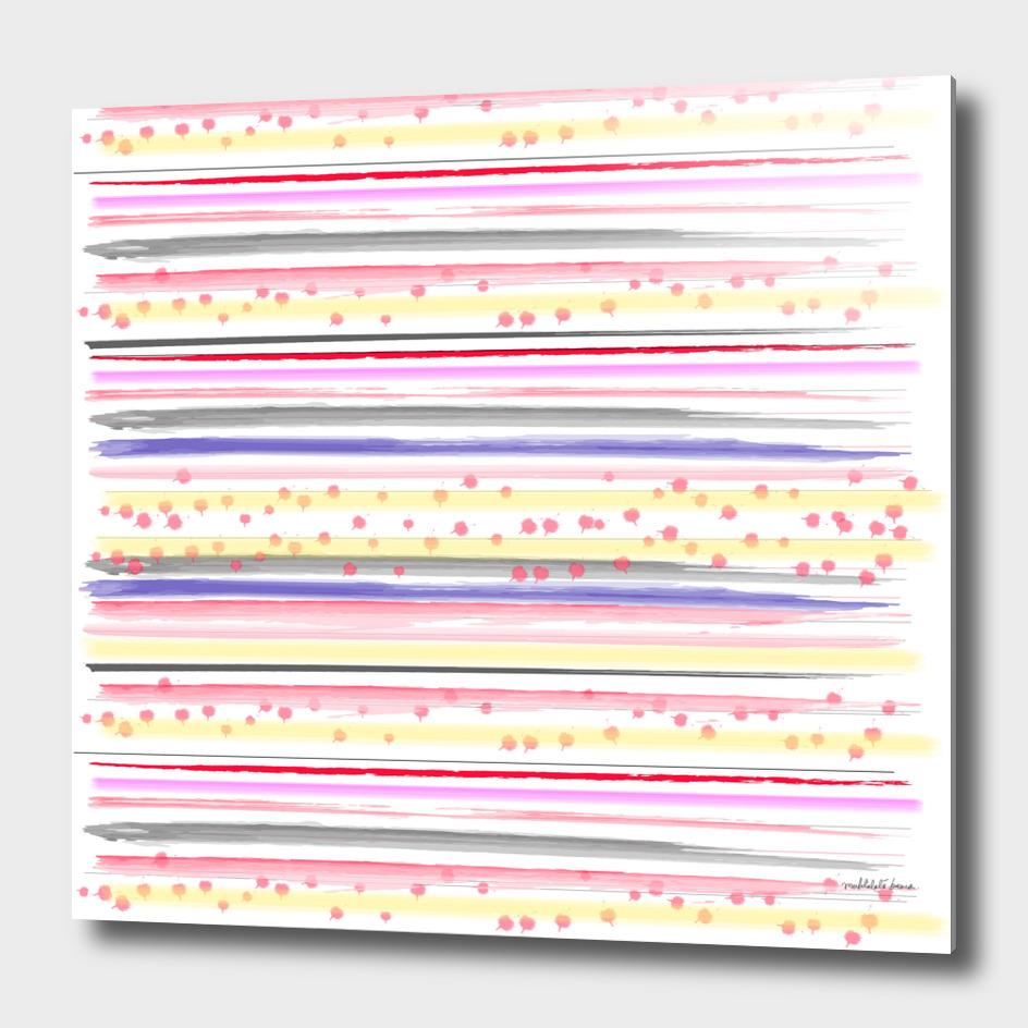 Watercolor Stripes 1