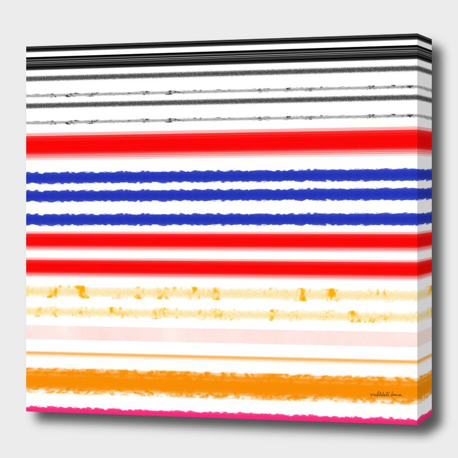 Watercolor Stripes 2
