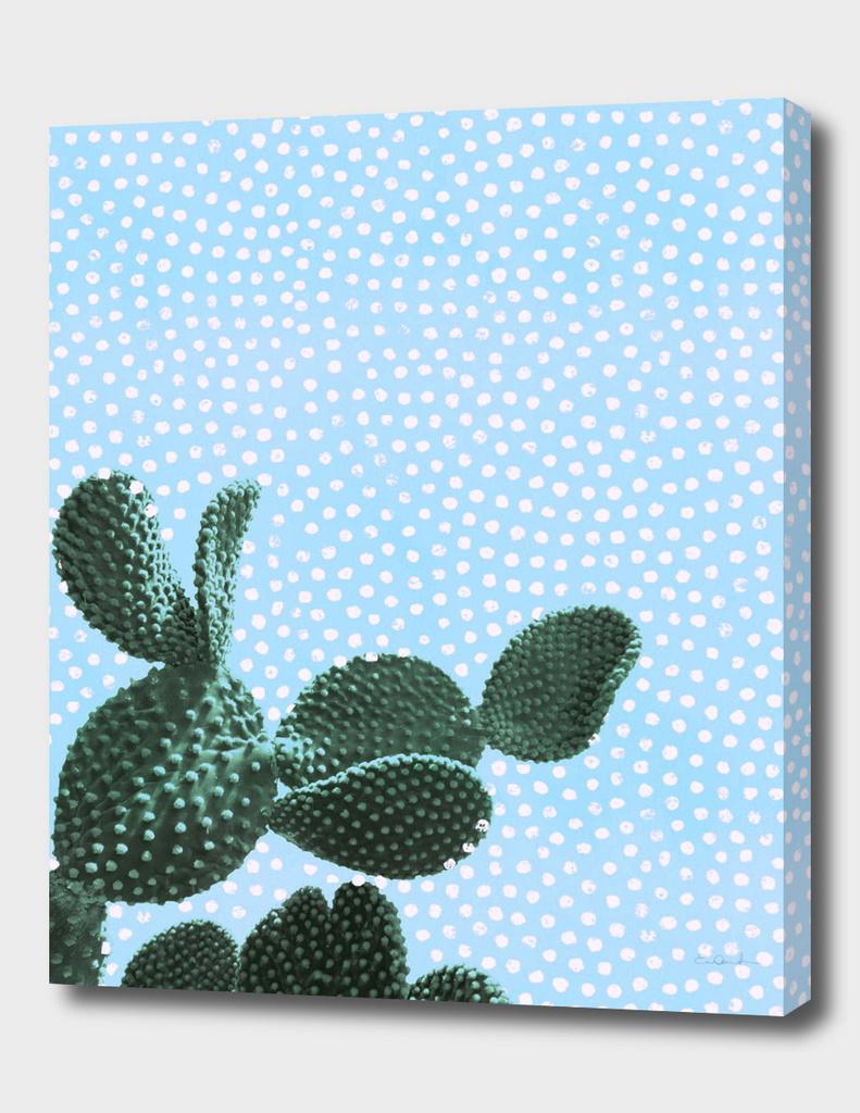 Cactus with Polka Dots