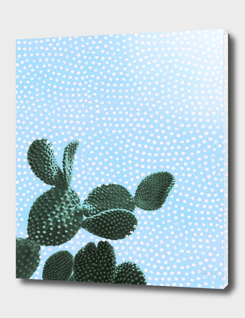 Cactus with Polka Dots