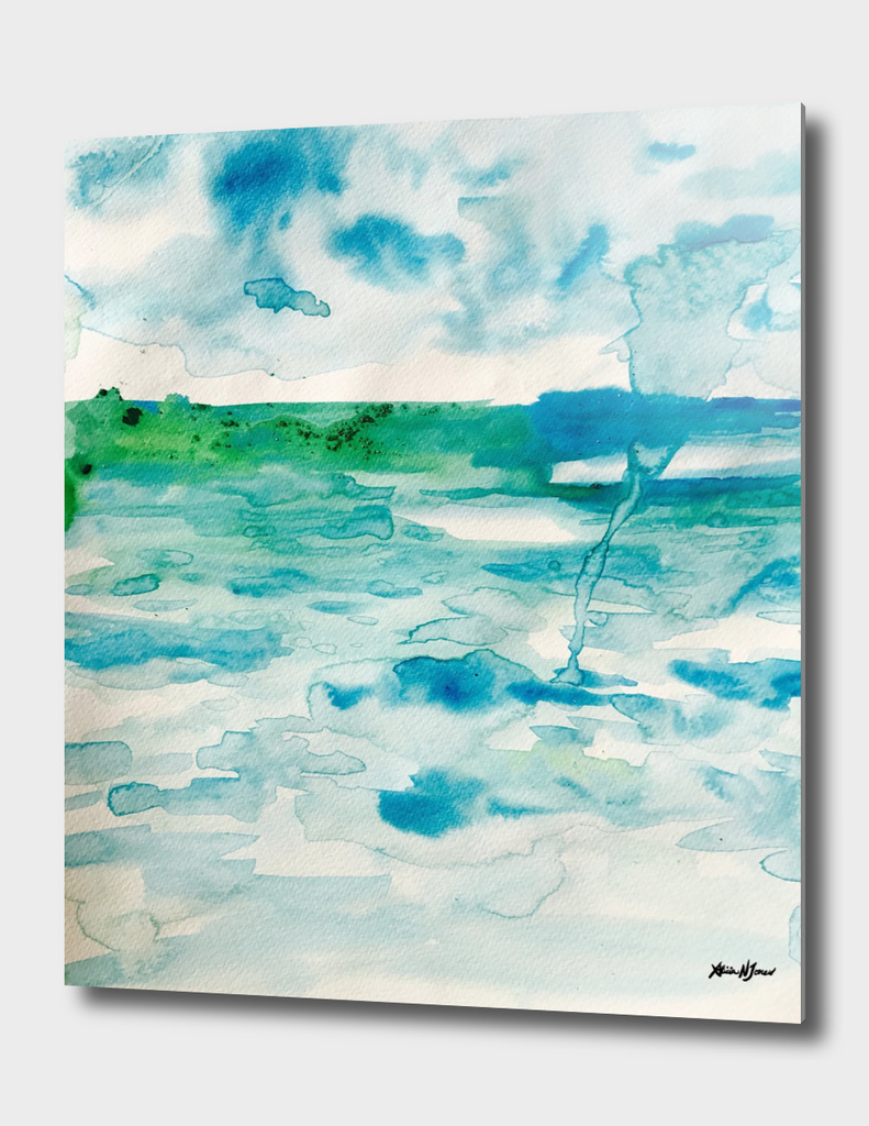 Miami Beach Watercolor #6