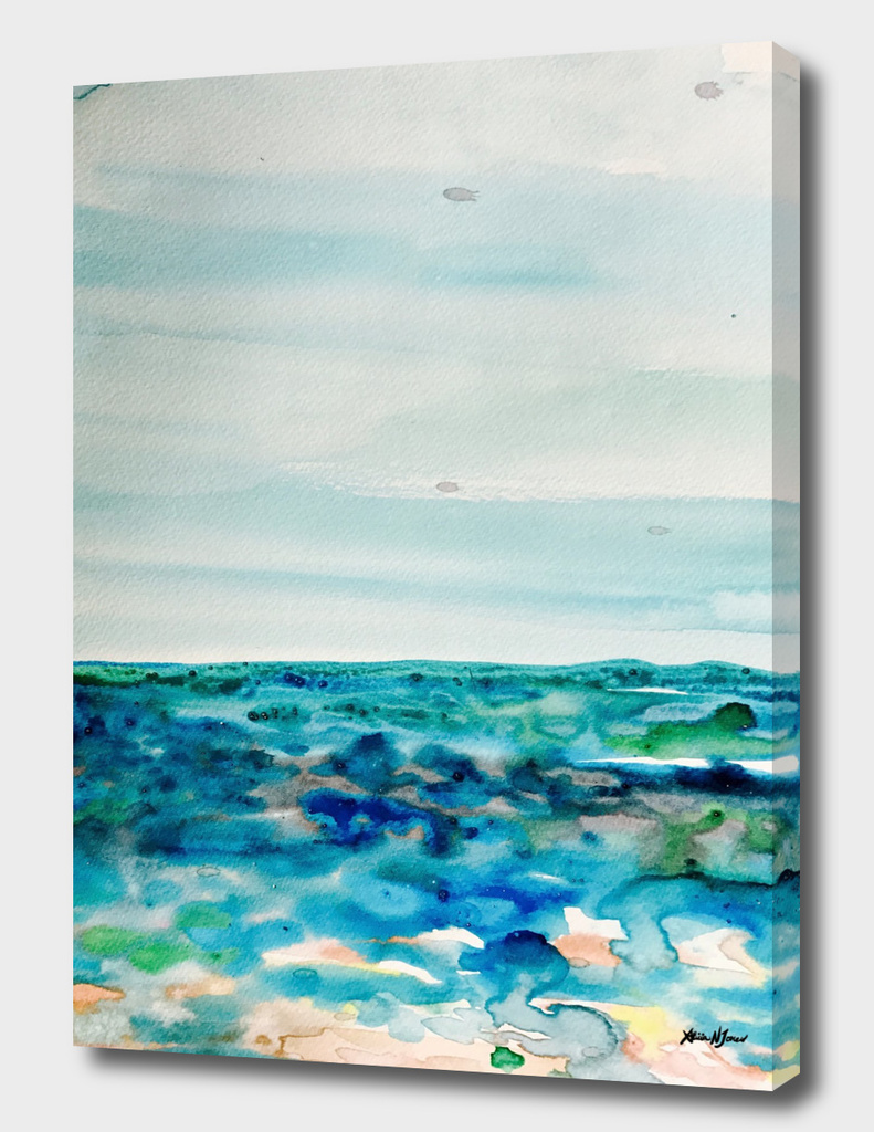 Miami Beach Watercolor #8