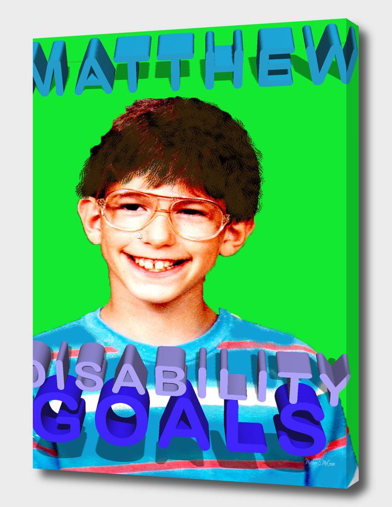 Matthew-Disability Goals