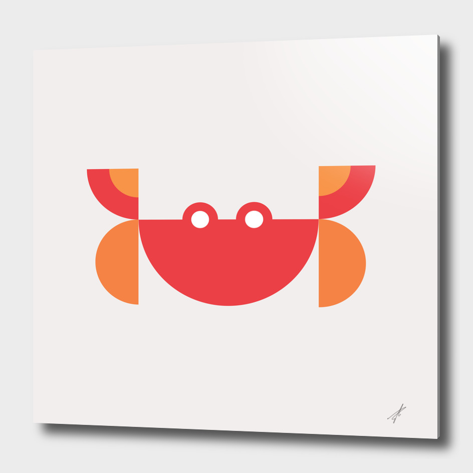 Quadrant Red Crab