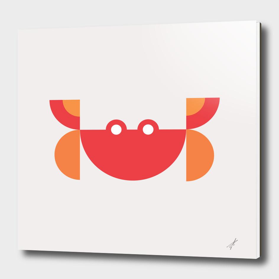 Quadrant Red Crab