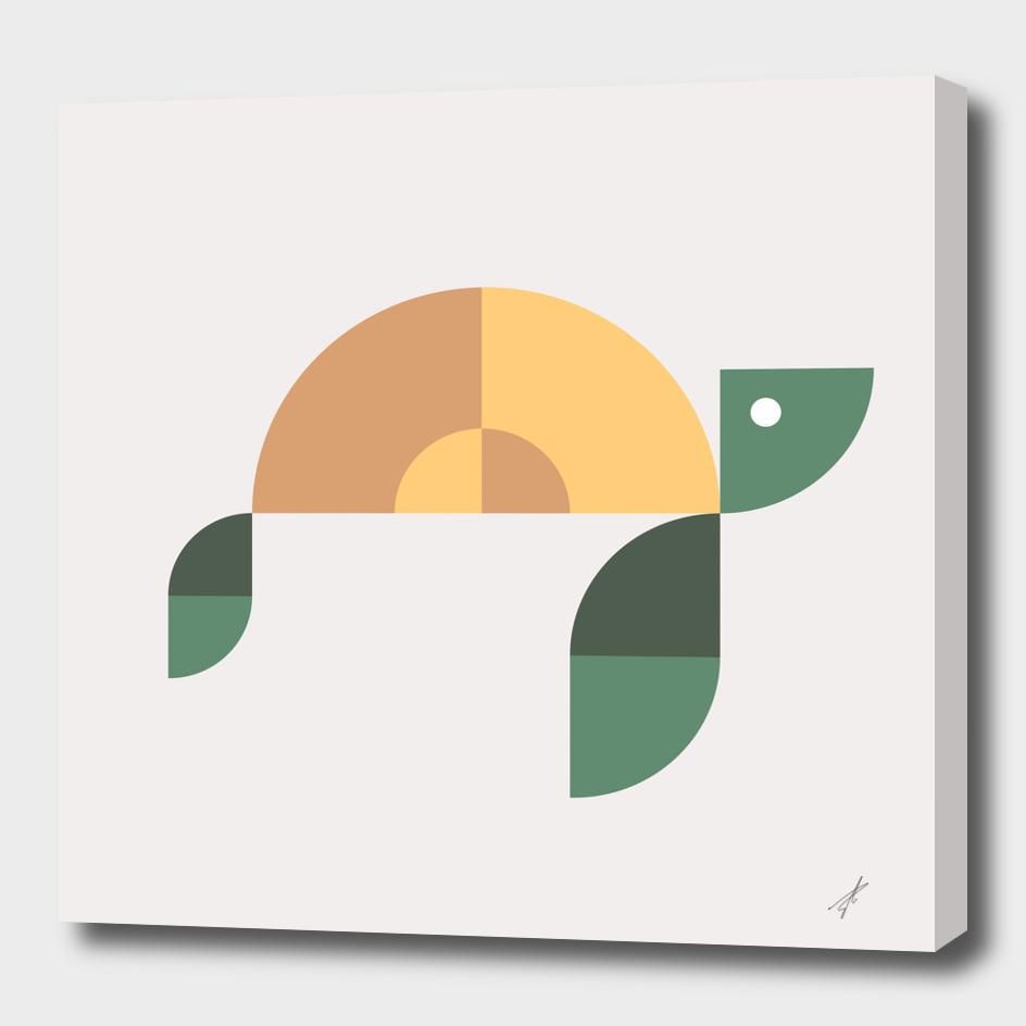 Quadrant Sea Turtle