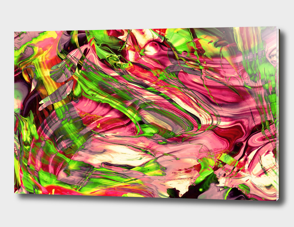 ABSTRACT COLORFUL PAINTING I