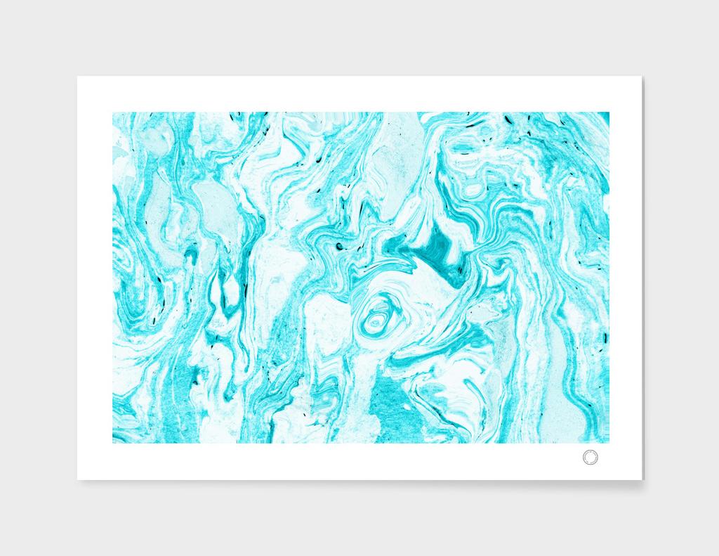 Ocean Blue Marble