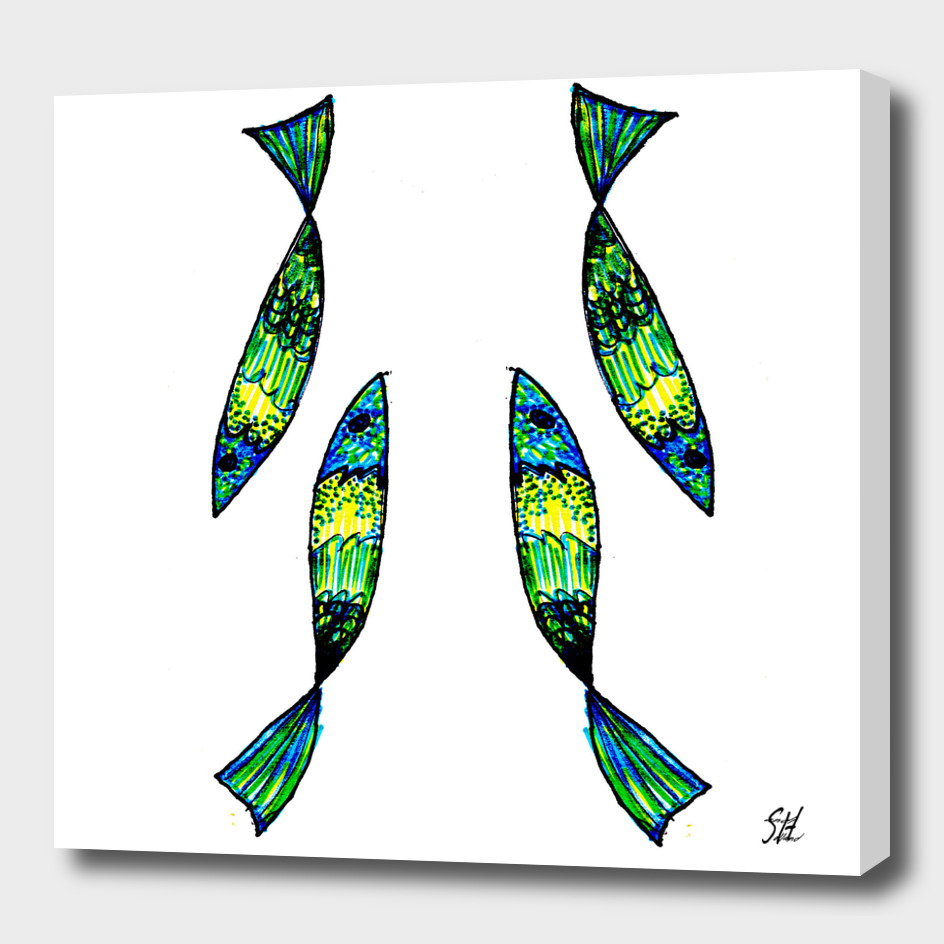Jeweled Fishes II