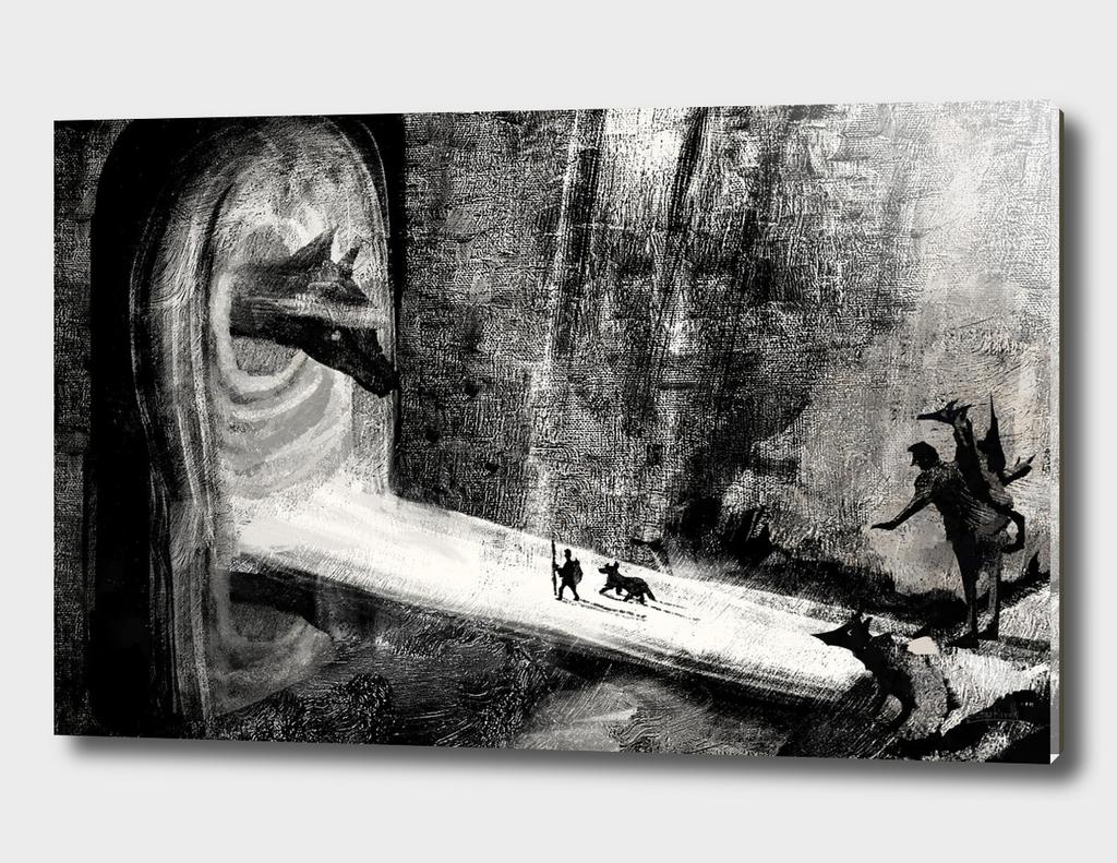 Travel in dark worlds