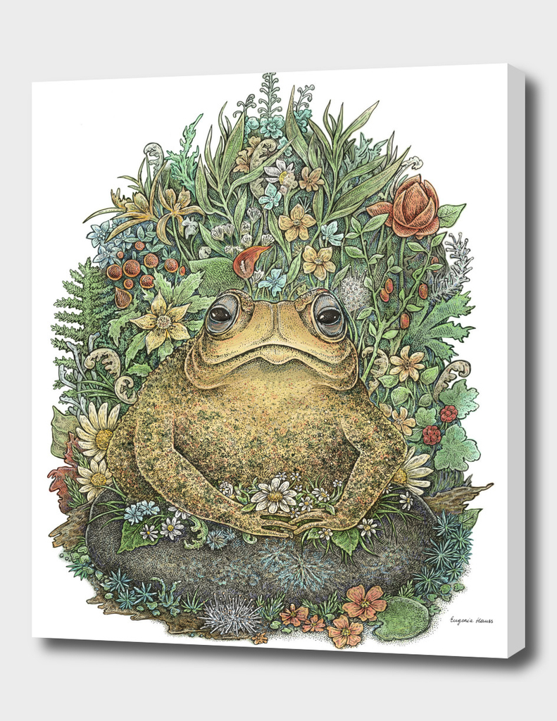 Her Majesty Toad - Colorful Version