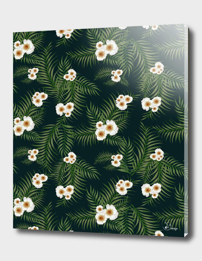 Gloomy Jungle Pattern