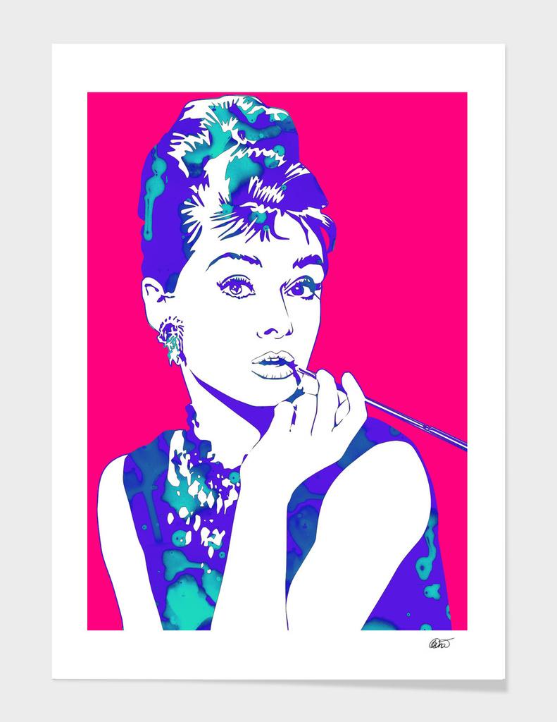 Audrey pink