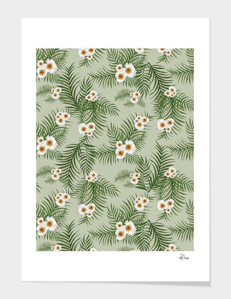 Vintage Jungle Pattern
