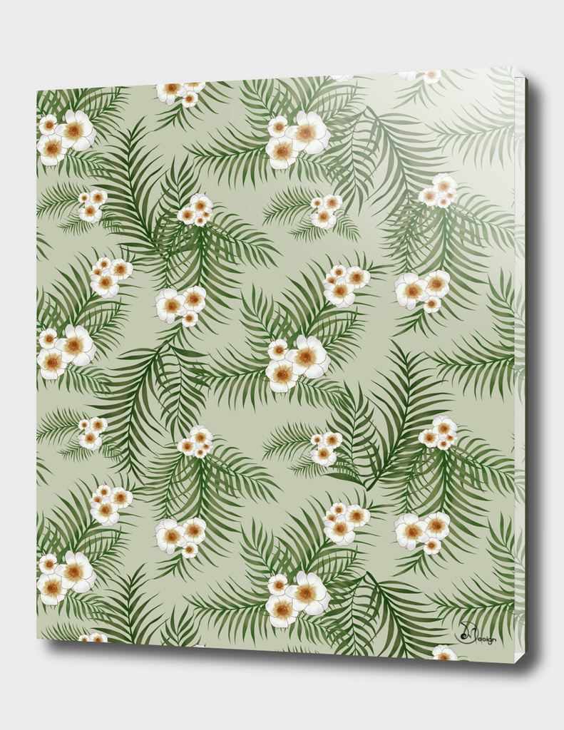 Vintage Jungle Pattern