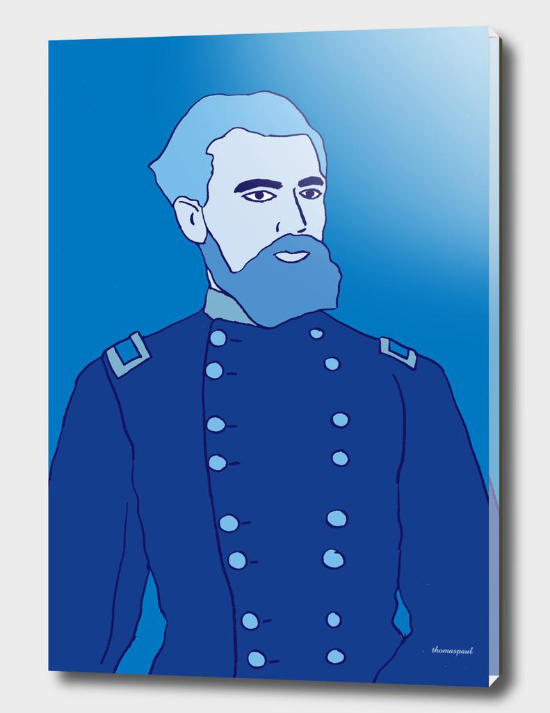 SOLDIER BLUE COAT