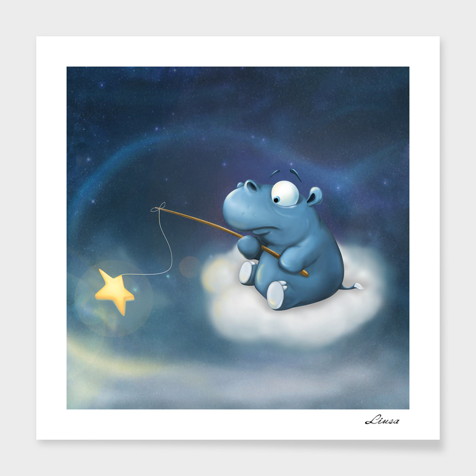 A hippo and a magical star fairy tail