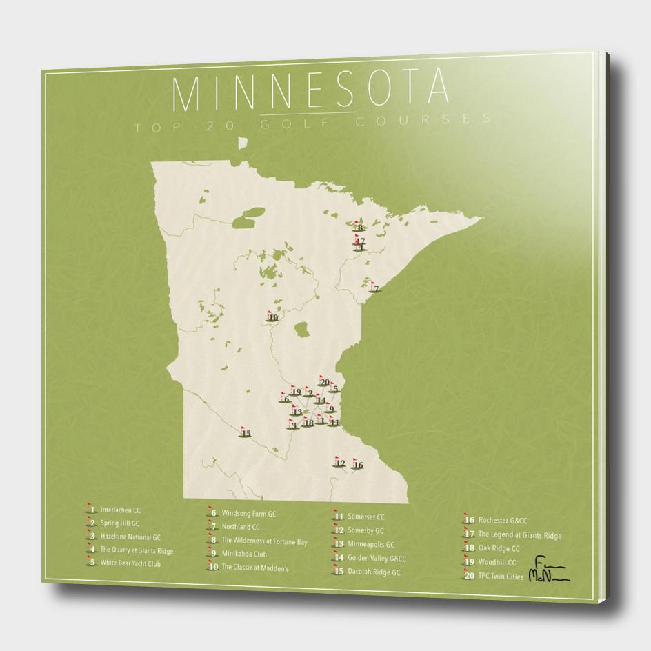 Minnesota Golf Courses