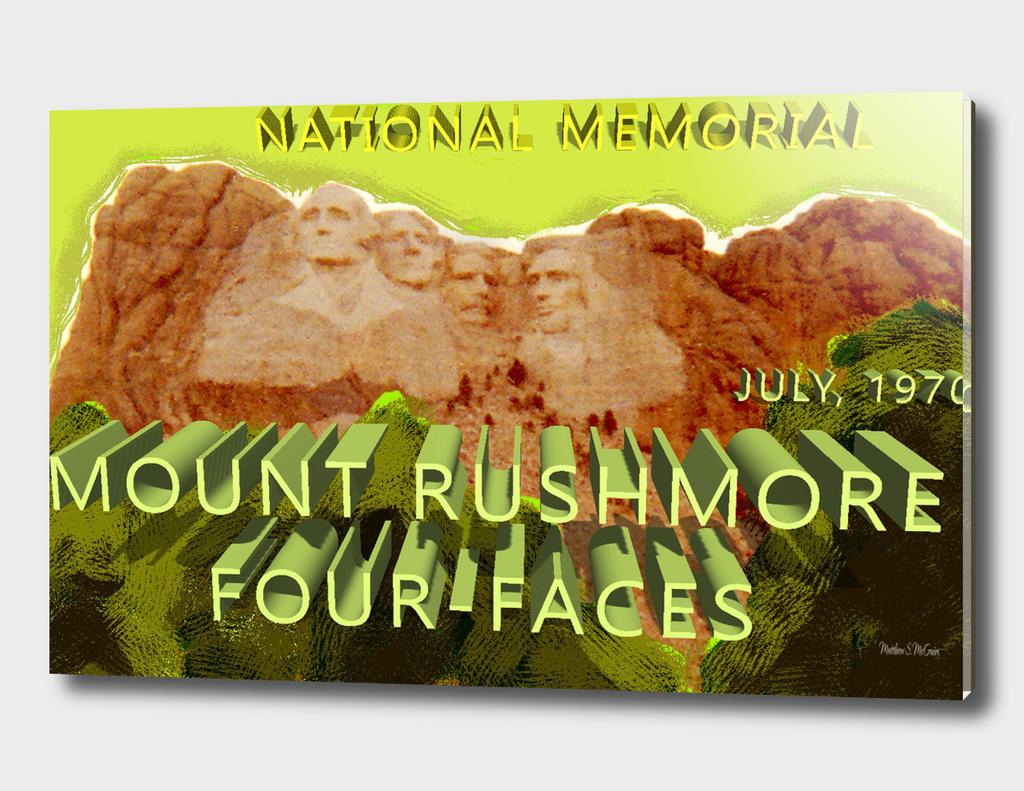 Mount Rushmore Four Faces