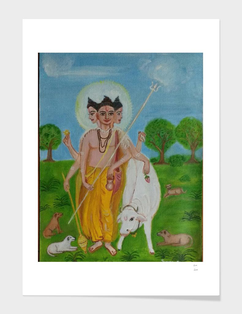 Dattatreya-Hindu God