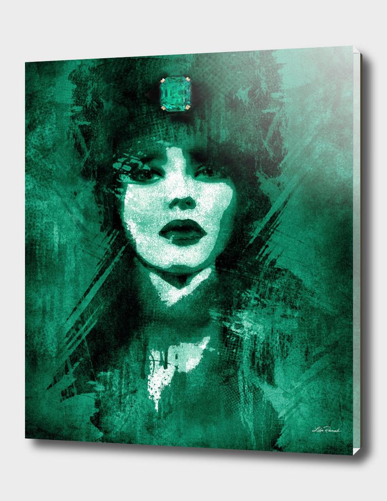 Green Emerald by Lika Ramati