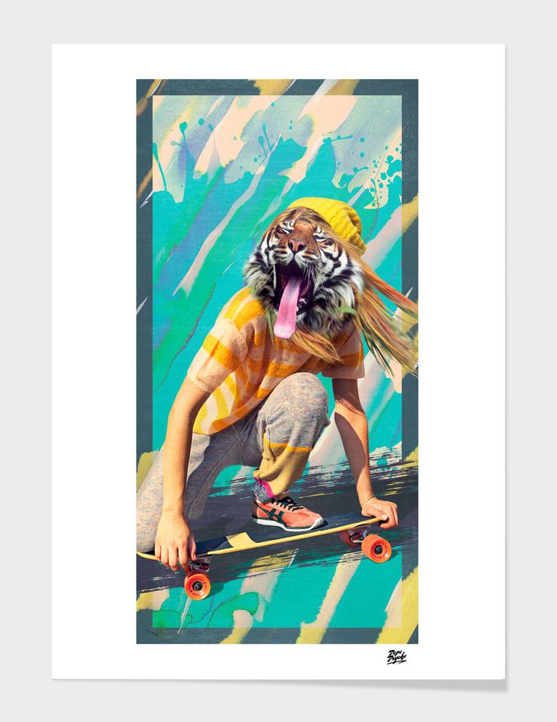 Skate Reggae Sun Ska Tiger Pepe Psyche