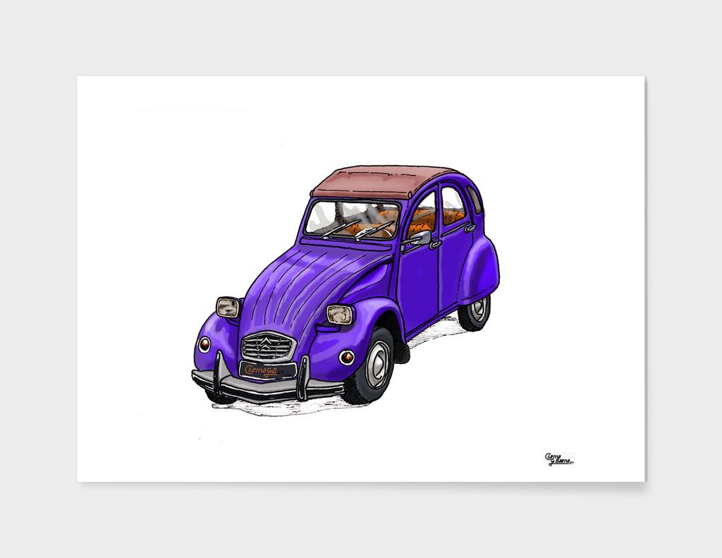 Purple 2CV