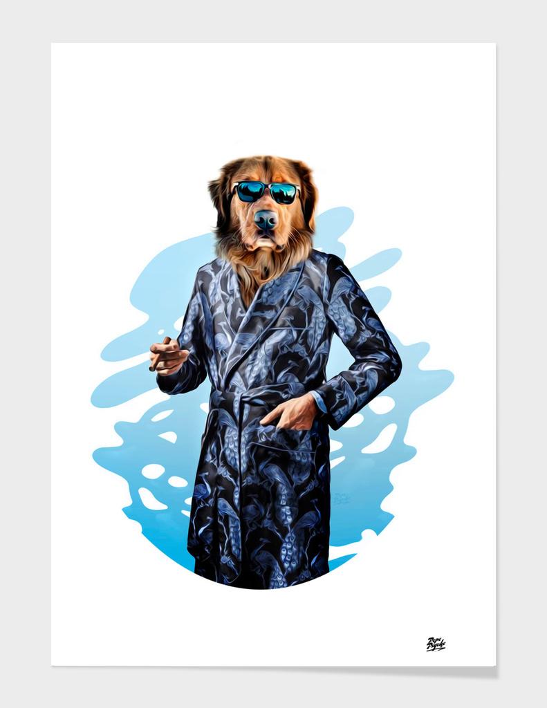 Smoking Dog Pepe Psyche