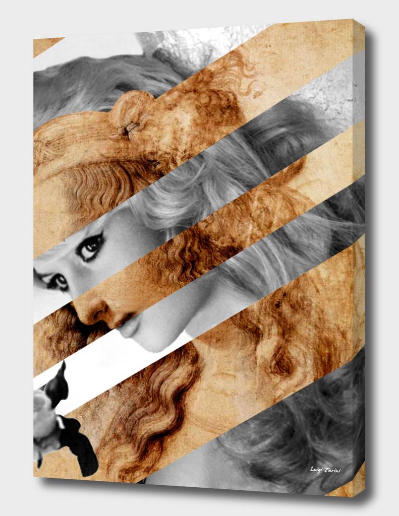 Leonardo's Head of Woman & Brigitte Bardot