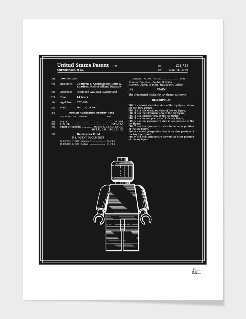 Toy Figure Patent v1 - Black