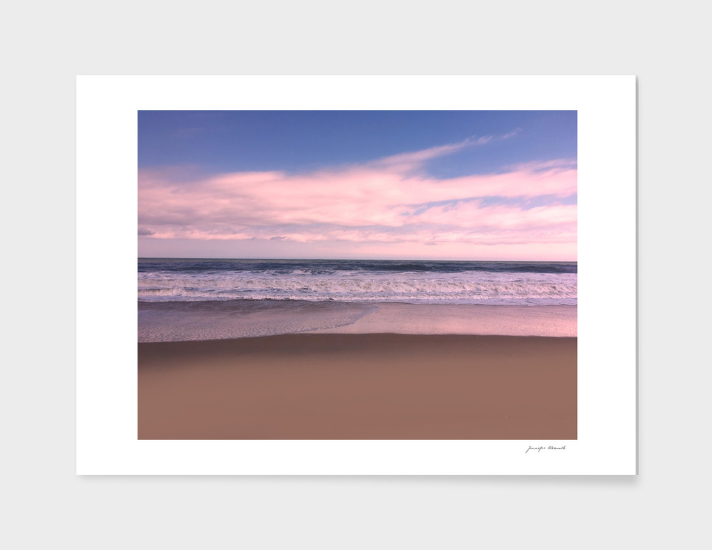 Bright Sky Seascape