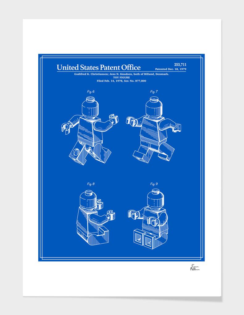 Toy Figure Patent v3 - Blueprint