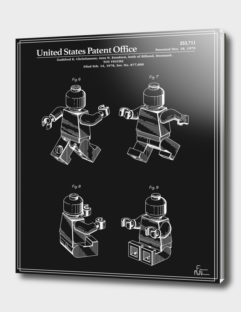 Toy Figure Patent v3 - Black