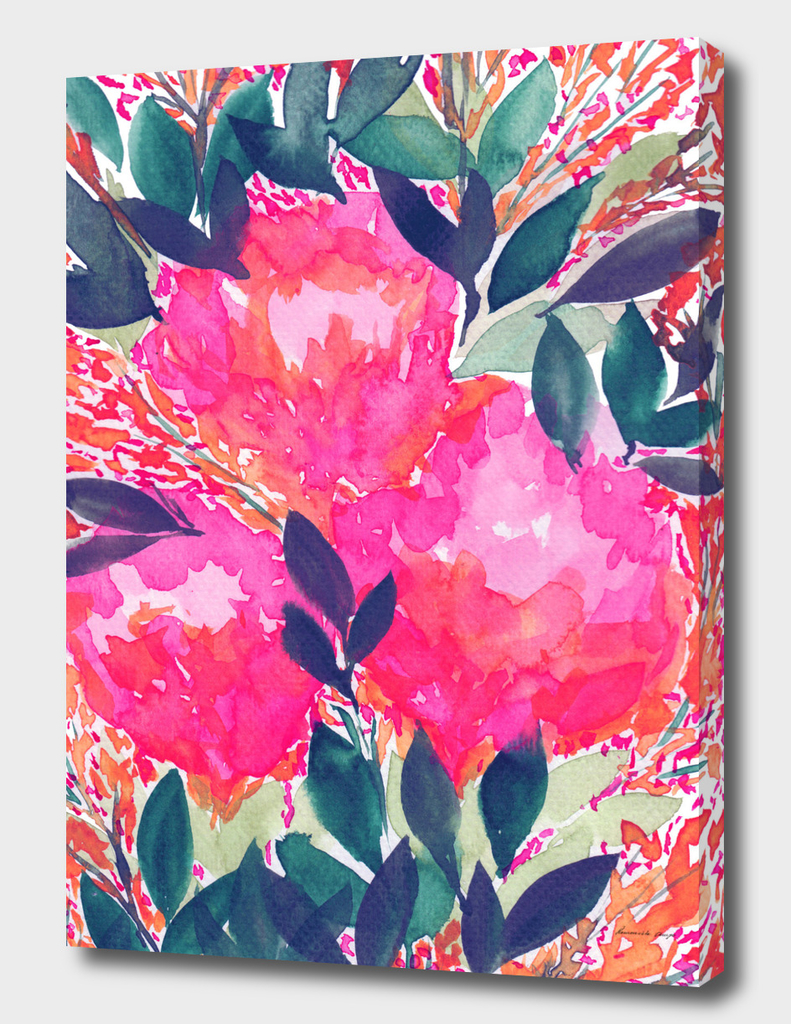 full flowers painting