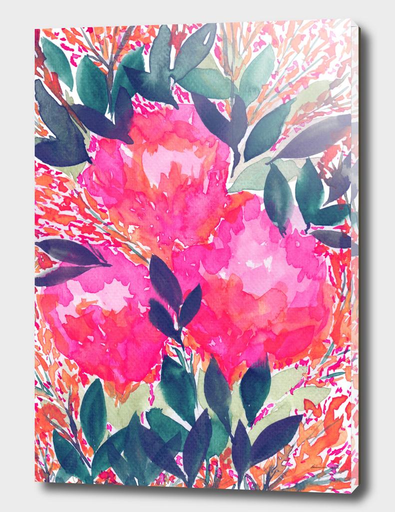 full flowers painting