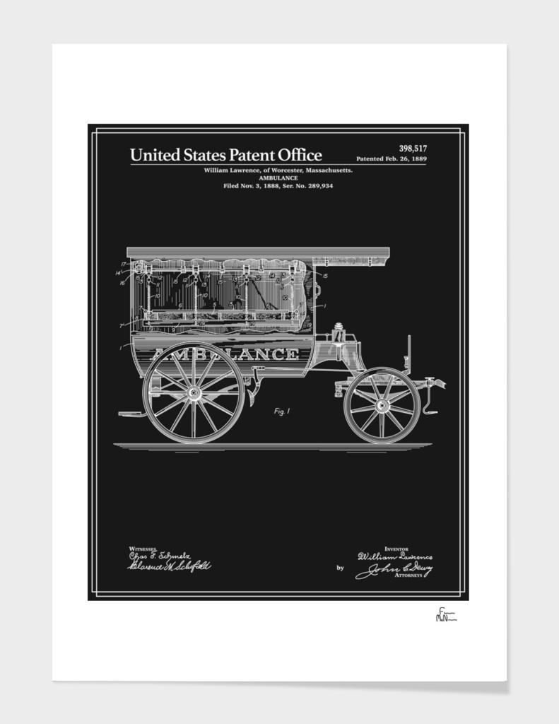 Ambulance Patent - Black
