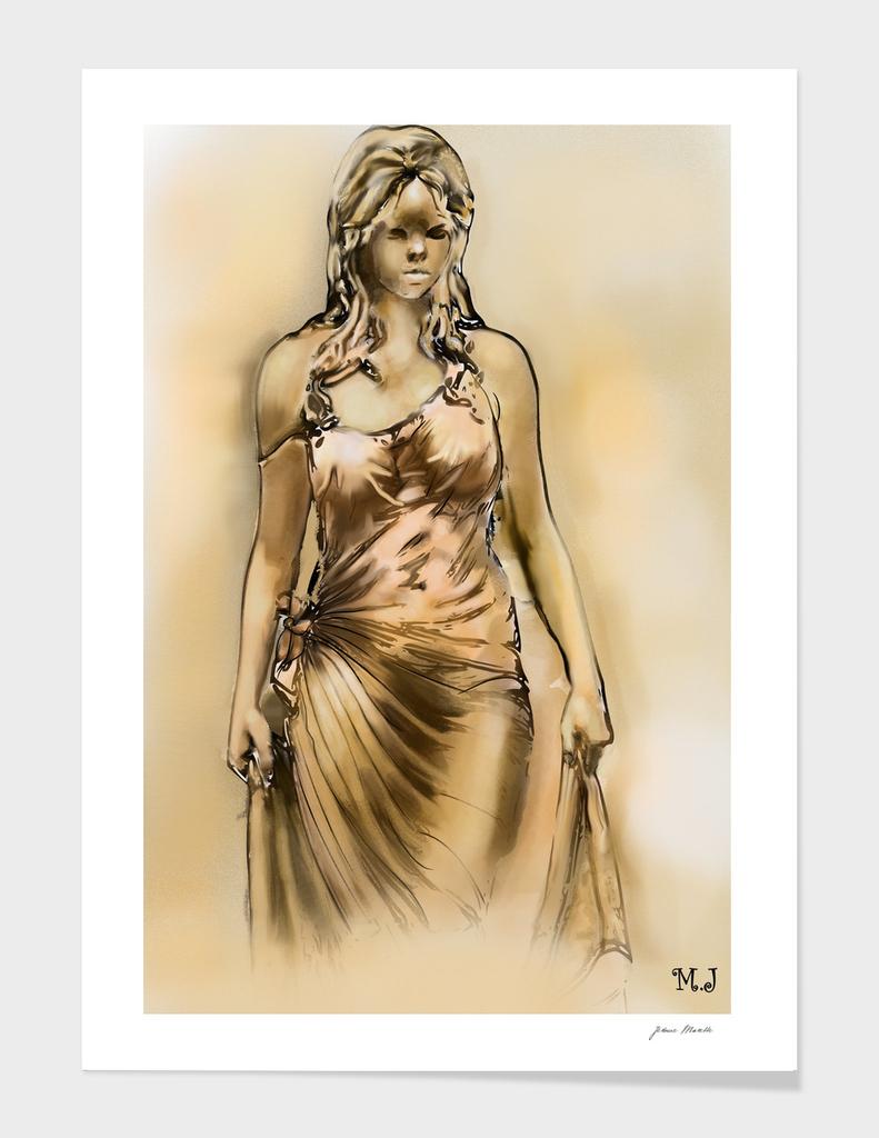 Woman of the desert