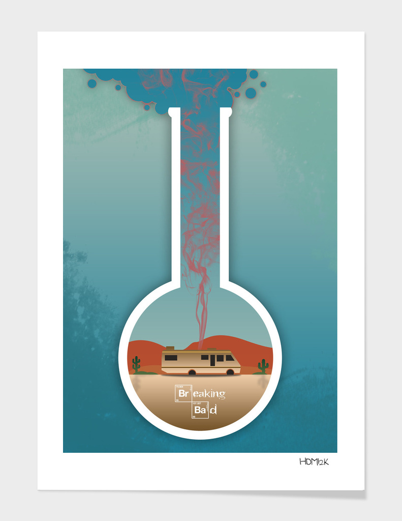 Breaking Bad - Minimal TV Poster - Fanart alternative