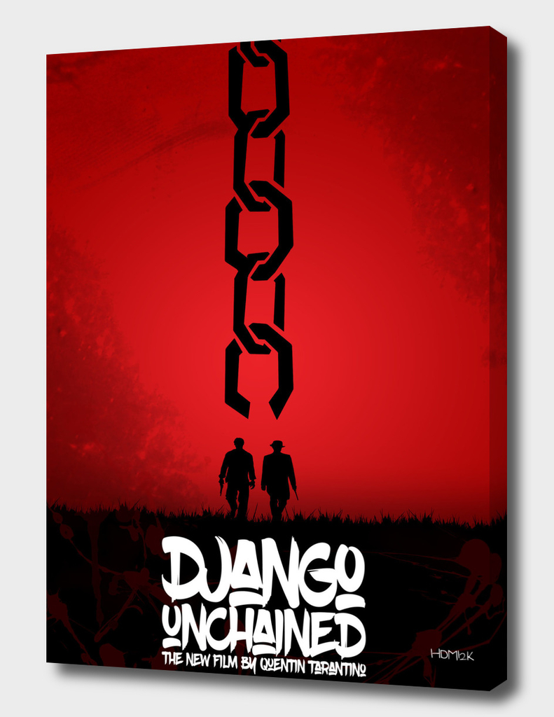 Django Unchained - Minimal Movie Poster
